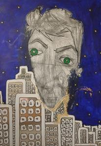 Self Portrait on the Mirror City